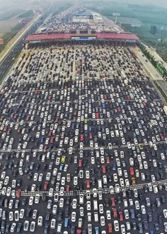How Many Cars Are In China